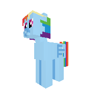 Rainbow dash new version