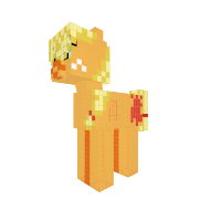 Applejack (ask Butchershy and Pinkamena)