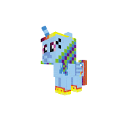 Little Alicorn Rainbow Dash