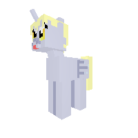 Derpy alicorn