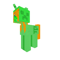 Creeper pony