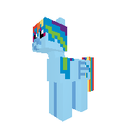 Rainbov Dash  Pony