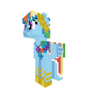 Rainbow Dash (gala dress)