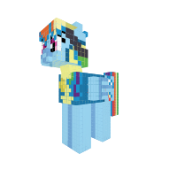Rainbow Dash (wonderbolt cadet)