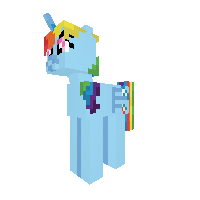 Rainbow dash Alicorn