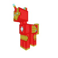 Ironman Pony (Super Heroes)